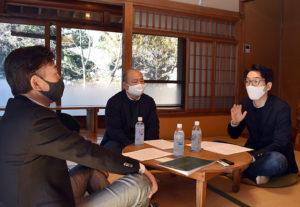 第6回「地域ビジネス・企業活動」は、妙蓮寺「古民家HUG(ハグ)」から熱きトークを展開